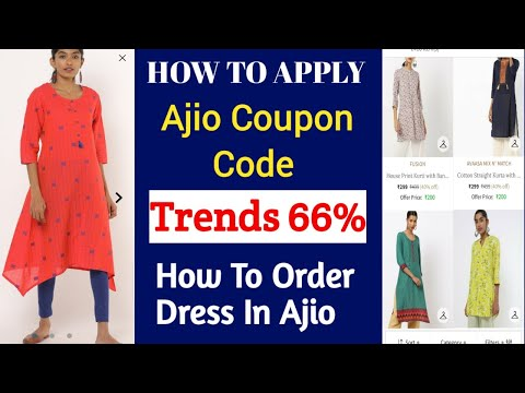 How To Apply Ajio Coupen code in tamil / How to use ajio coupon in tamil / How to buy kurtis in ajio