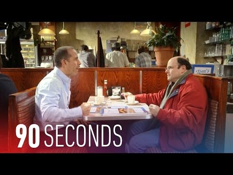 Jerry Seinfeld and George Costanza get coffee: 90 Seconds on The Verge