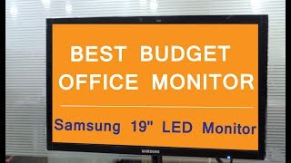 Samsung LS19F350HNWXXL 18 5 inch LED Monitor In-Depth Review amp Price