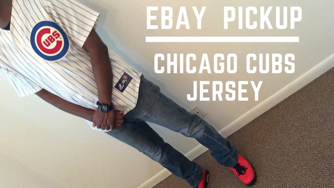 best service 38512 173e9 Ebay Pickup Cubs Jersey and FOTD