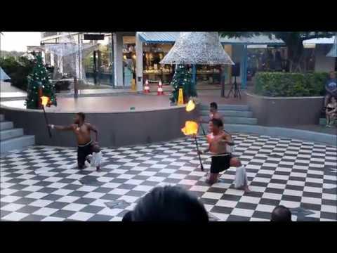 Christmas at Port Denaru 2017 Fire Dance