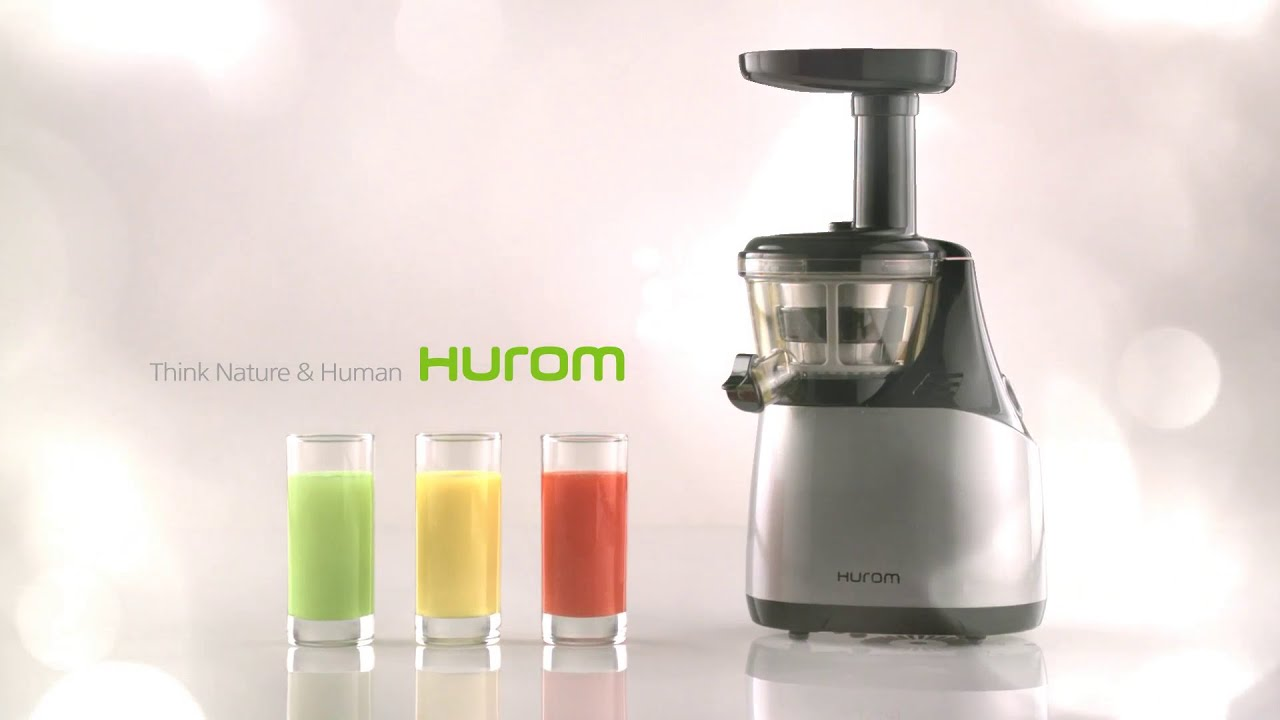 Primada Slow Juicer Vs Hurom Slow Juicer : Hurom HE-500 with contemporary design - YouTube