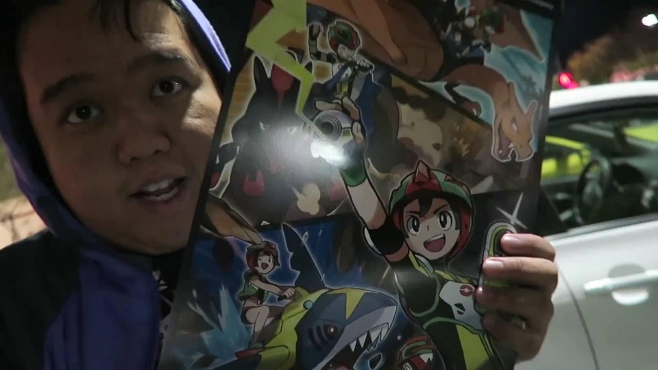 Pokémon Sun And Moon Midnight Gamestop Release Vlog