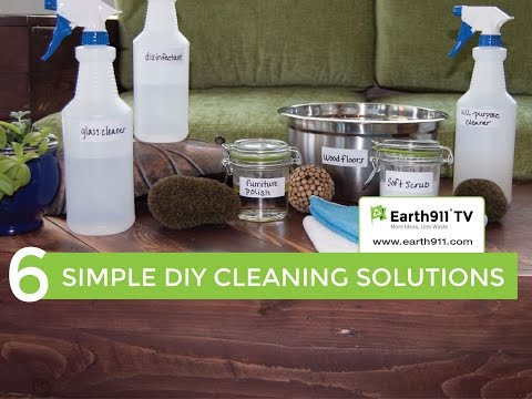 6 Simple DIY Cleaning Solutions