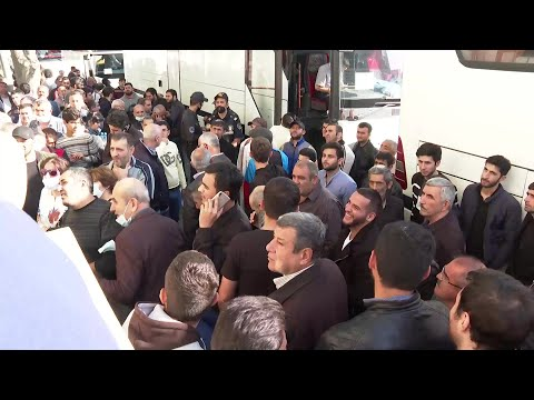 AFP News Agency: Men flock to military recruitment centers in Azerbaijan during a partial mobilisation | AFP