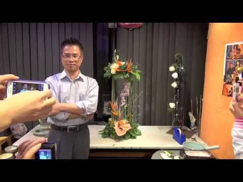 MD 1   Monthly Flower Demonstration Show full version 每月插花示範