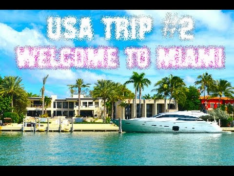 FMA USA Trip #2 Florida | Millionaire's Row CRUISE | MIAMI BAYSIDE | Shopping