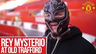 Rey Mysterio Visits Manchester United!