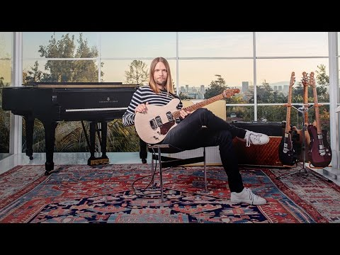 James Valentine and the New Ernie Ball Music Man 'Valentine' Guitar