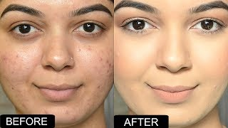 EASY & FLAWLESS Foundation Routine for LARGE / OPEN PORES | IN COLLAB WITH HEALTH&GLOW CHANNEL.