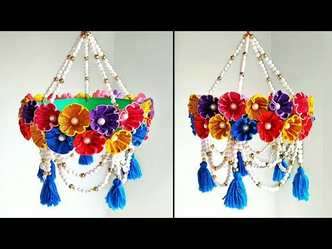 DIY Beautiful Wind Chime Out Of Waste Thermocol Balls and Foam Sheet