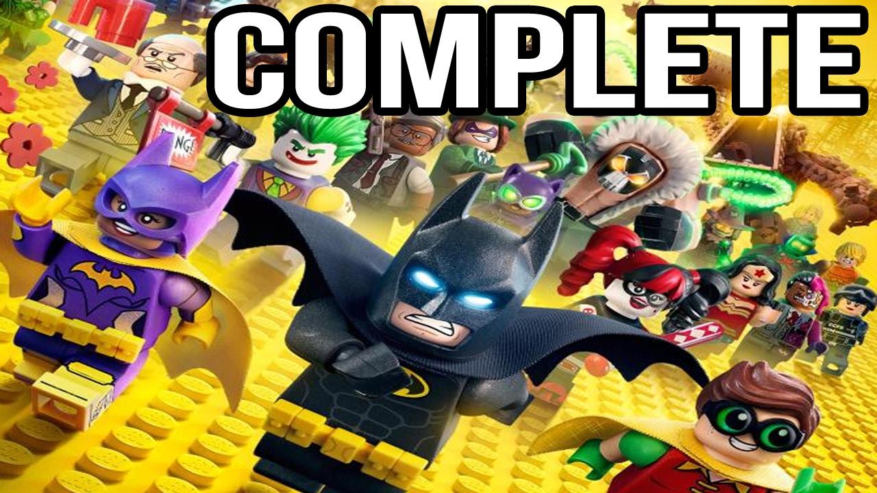 The LEGO Batman Movie Game - Complete Gameplay Walkthrough ...