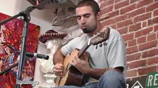 REBELUTION's Eric Rachmany - Outta Control - acoustic Moboogie Loft Session