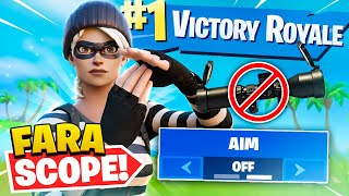 NO *AIM* CHALLENGE ÎN FORTNITE - !