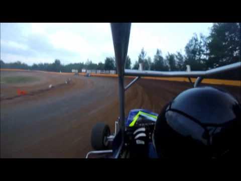 Hamlin Speedway June 17th, 2017 - Alex Reinsmith #47 Wingless 270 Micro