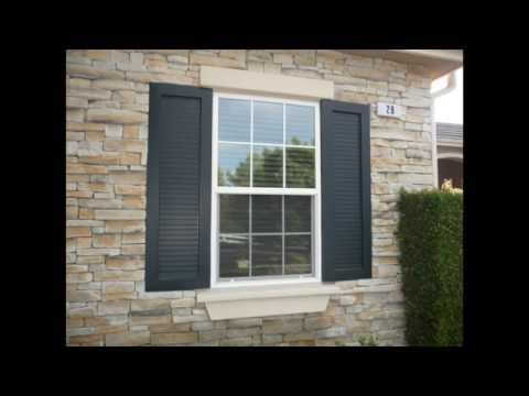 Exterior Shutters by Classic Improvement Products - YouTube