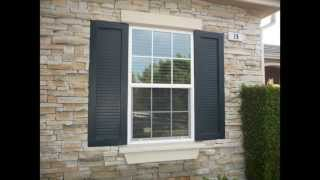 Exterior Shutters By Classic Home Improvement Products