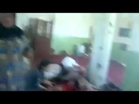 Iraqi military making crime by killing Sunni Muslims in Diyala   Iraq 1   مجزرة مسجد مصعب بن عمير
