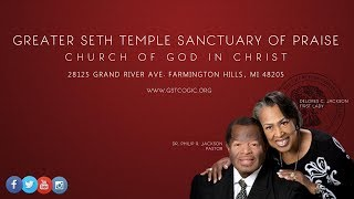 Greater Seth Temple Live Stream Homegoing Service - Mother Janet Clifton- July 15, 2017