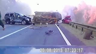 САМАЯ ЖОСТКАЯ АВАРИЯ ! Видео Дтп ! Авария на Видеорегистратор ! Дтп видео ! Реальная авария !