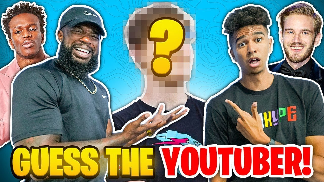 Crazy 2HYPE Guess That YouTuber! *I FAILED BAD*