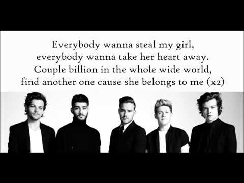 One Direction - Steal My Girl [Lyrics On Screen]