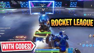 Best Fortnite Rocket League Maps WITH CODES!