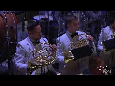 John Williams conducts Star Wars. May 23, 2018 (Courtesy Boston Pops)
