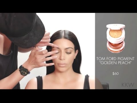 [FULL VIDEO] Kim Kardashian | Sunkissed Bronze Eye Makeup Tutorial By Patrick Ta
