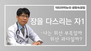 장을다스리는자1 (위산부족? 위산과다? 알쏭달쏭?)