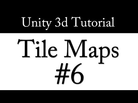 Unity 3d: TileMaps - Part 6 - Procedural Texture Generation