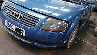 AUDI TT 2000: Обзор/тест автомобиля на разбор (машинокомплект) из Англии от «АвтоКухня»