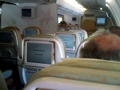 Announcement Captain Etihad Airways Inside Boeing 777 Or
