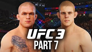 EA Sports UFC 3 Career Mode Gameplay Walkthrough Part 7 - TWO BIG FIGHTS