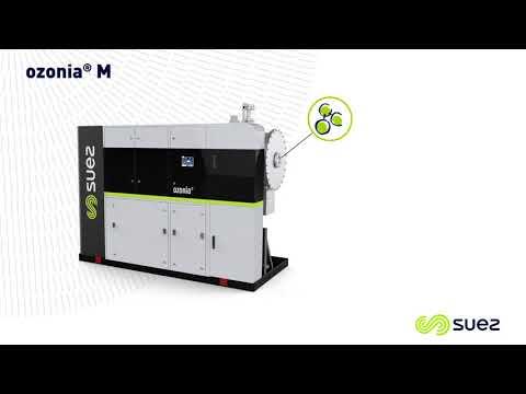 Système de traitement d'eau par ozonation – OZONIA SUEZ