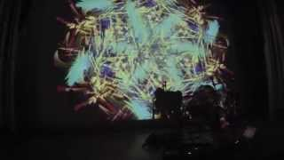 Cyberacoustic Guitar + Live Particle Animation at Scottish Rite Theatre (Austin, Texas)
