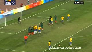 Ronaldinho Brazil   Cameroon