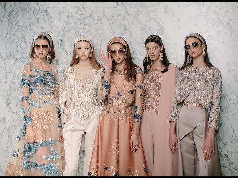 ELIE SAAB Haute Couture Spring Summer 2017 | Studio Video