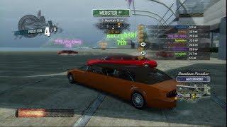 Burnout Paradise PS3 - drivable traffic - Limousine - HD 720p