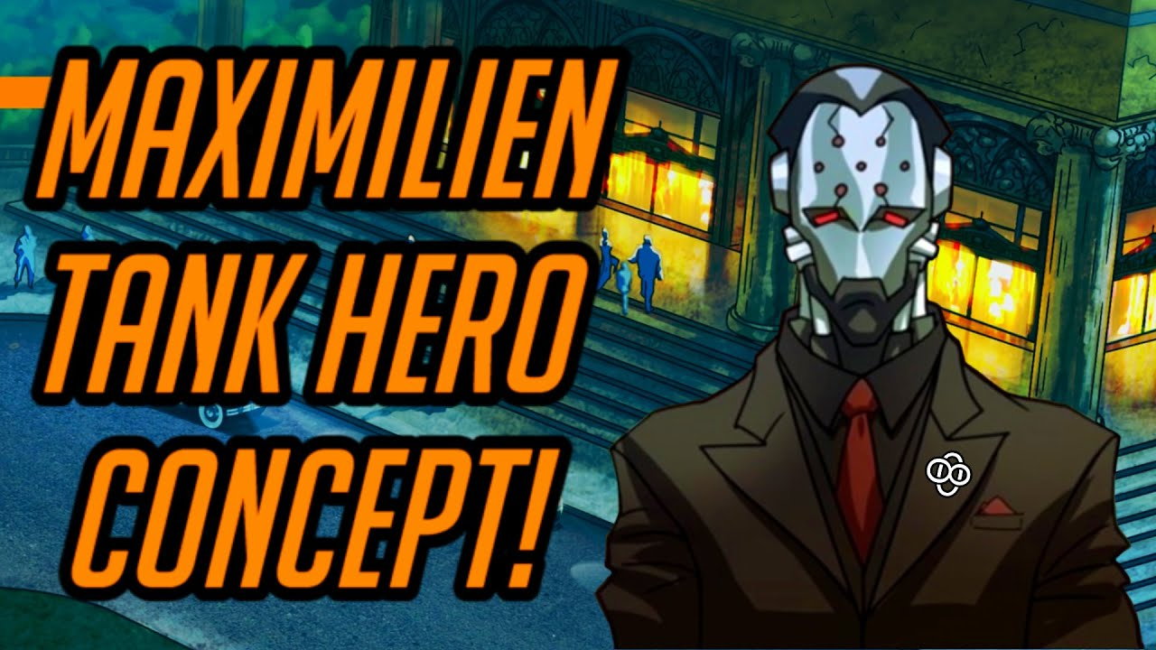 Download Overwatch   Maximilien New Magnetic Tank Hero Concept!   Potential Abilities & Lore!