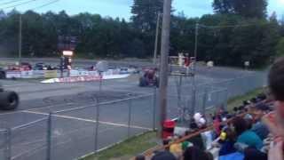 Saratoga. May 18 monster truck flips