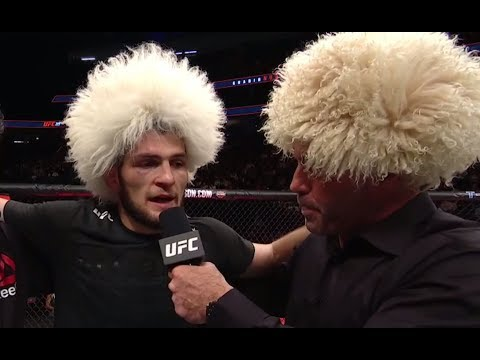 Ufc 219 Khabib Nurmagomedov Octagon Interview Youtube