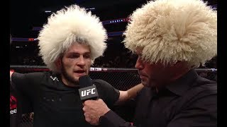 Video UFC 219: Khabib Nurmagomedov - Octagon Interview download MP3, 3GP, MP4, WEBM, AVI, FLV Oktober 2018
