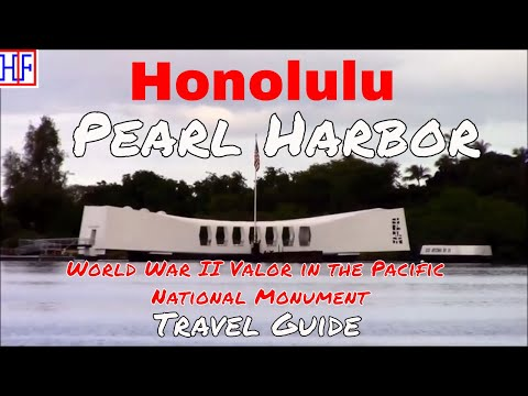 Honolulu | Pearl Harbor –  World War II Valor in the Pacific National Monument | Tourist Info| Ep# 7