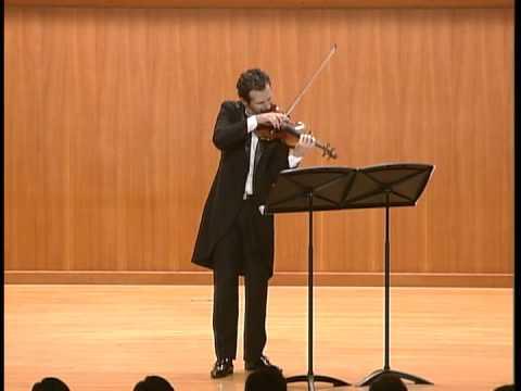 Ilya Gringolts Playing Jeajoon Ryu's violin Capric