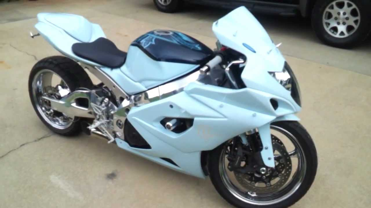 custom 2006 gsxr 1000 youtube. Black Bedroom Furniture Sets. Home Design Ideas