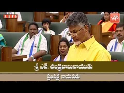 AP Assembly - TDP Chief Chandrababu Naidu Takes Oath as MLA in Assembly | TDP Kuppam | YOYO TV