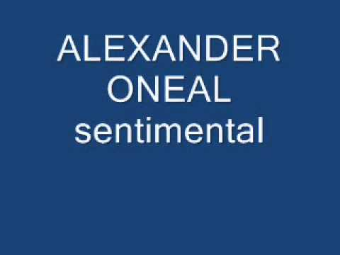 alexander oneal sentimental