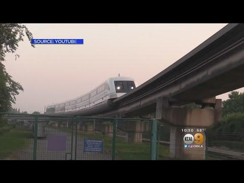 Mayor Garcetti Floats The Idea Of LA Getting A High-Speed Monorail