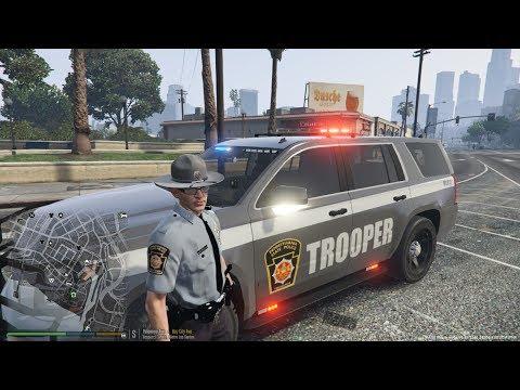 GTA 5 LSPDFR | PA state patrol